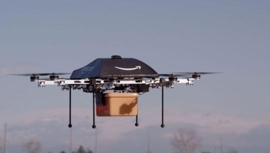 亚马逊无人机递送项目大揭密:30分钟送货上门