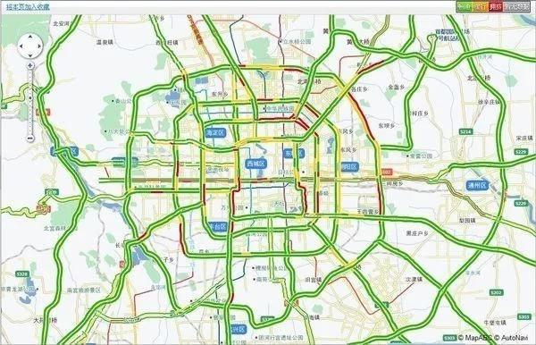 导航软件是如何判断是否堵车的?