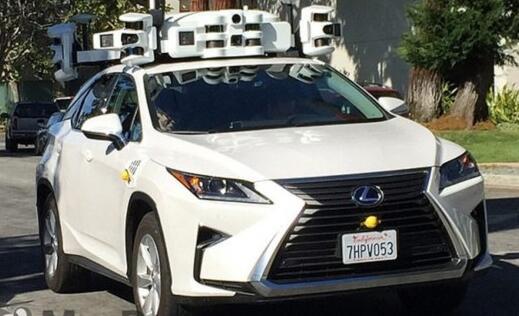 苹果无人驾驶车项目悄然推进 新增24辆测试车