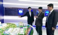 于贤成会长在广州海格通信集团公司调研