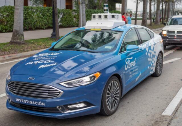 福特2021年推自动驾驶汽车网络 规模还相当大