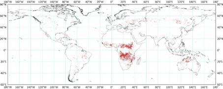 全球首幅全球30米分辨率火烧迹地分布图