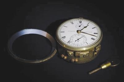 精度较高的航海钟