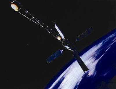"""美国第一颗导航卫星""""子午仪""""号"""