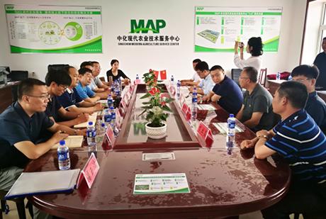 中位协中国北斗助力精准农业专家工