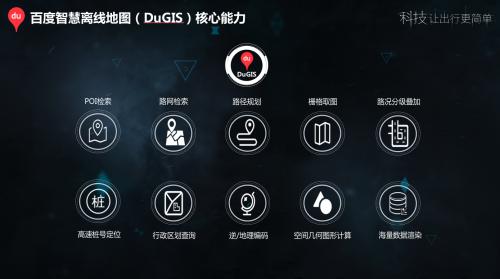 百度地图DuGIS赋能交警业务应用开发