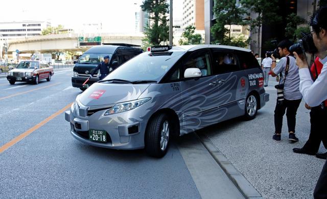 黑科技,前瞻技术,东京自动驾驶出租车,东京试运营自动驾驶出租车,东京自动驾驶,日本自动驾驶,汽车新技术