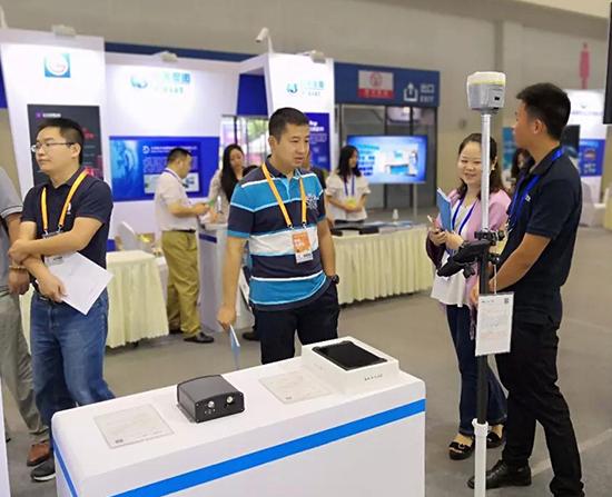 华测导航亮相中国卫星导航与位置服务第七届年会