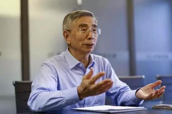 倪光南。新京报记者 浦峰 摄