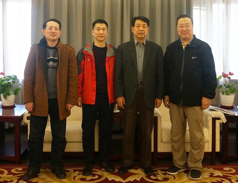 中位协会长于贤成会见神舟航天软件(济南)有限公司代表一行