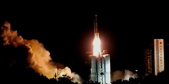 中位协会长于贤成带队赴西昌观摩北斗导航卫星发射