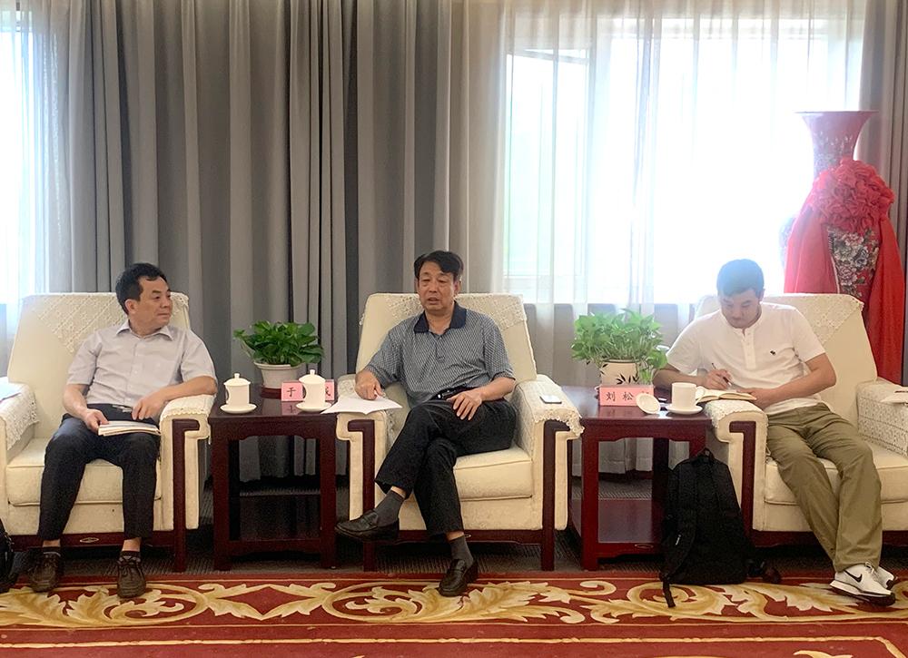 中位协会长于贤成会见辽宁省重大技术装备中心一行