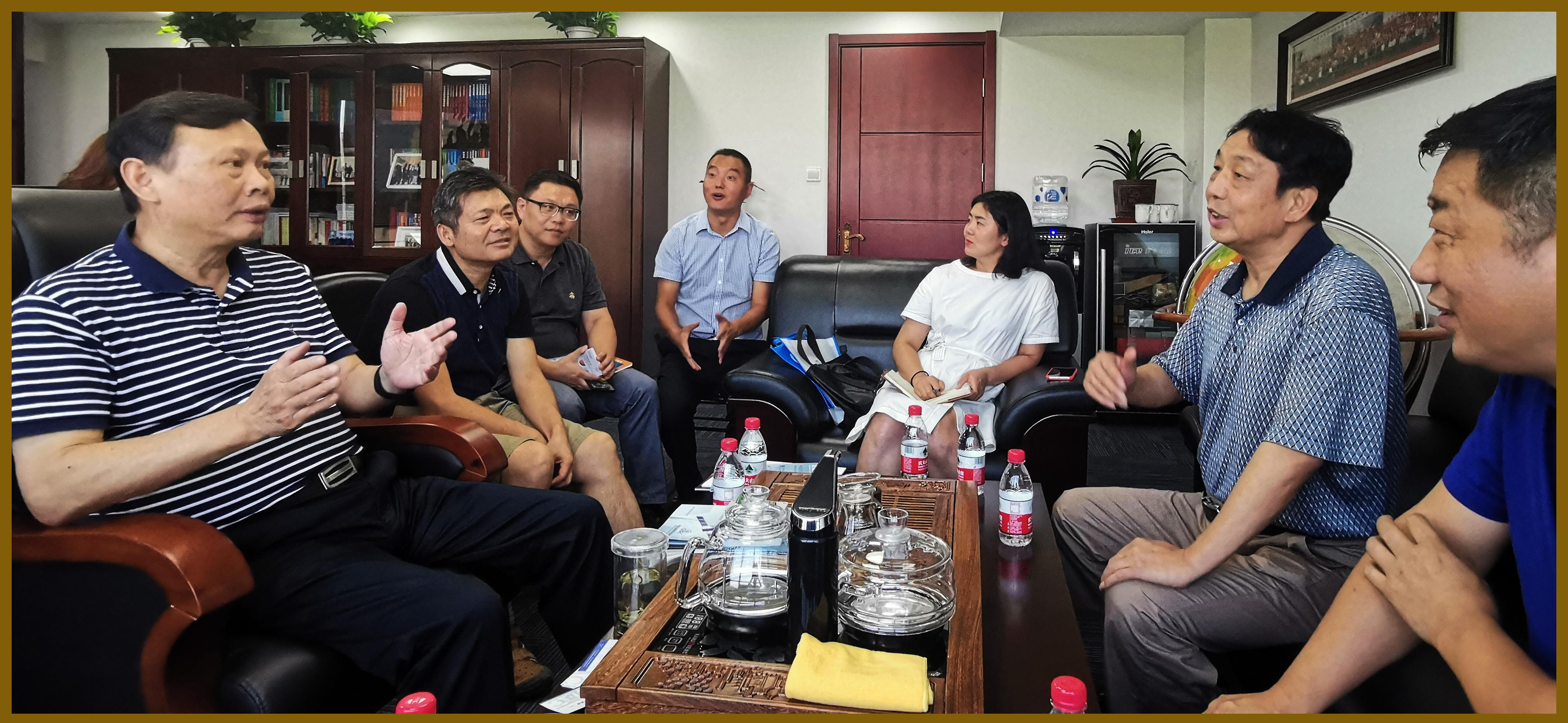 中国卫星导航定位协会会长于贤成拜访中国物流与采购联合会达成战略合作共识