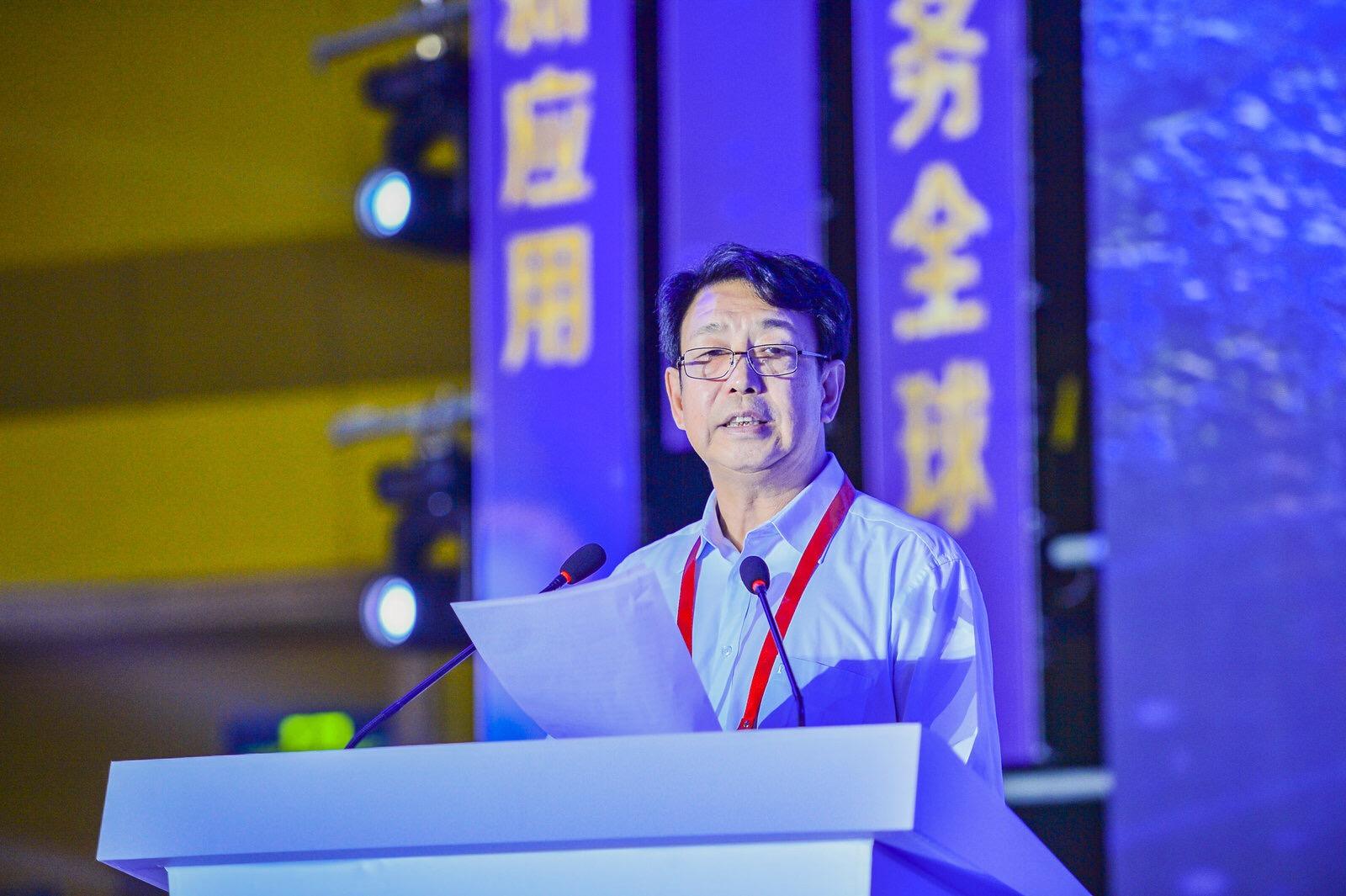 中位协会长于贤成在中国卫星导航与位置服务第八届年会暨中国北斗应用大会上讲话