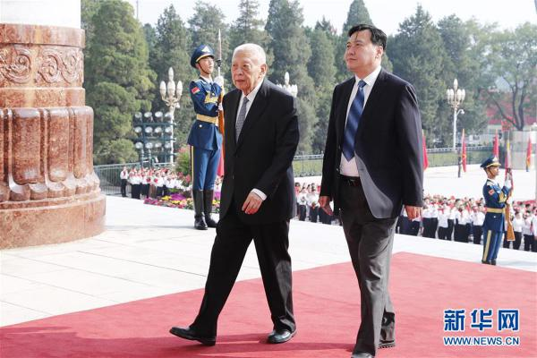 (XHDW)(8)国家勋章和国家荣誉称号颁授仪式在京举行