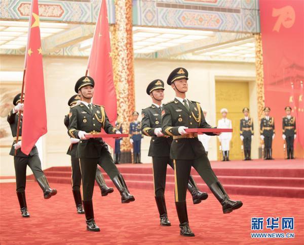 (XHDW)(24)国家勋章和国家荣誉称号颁授仪式在京举行