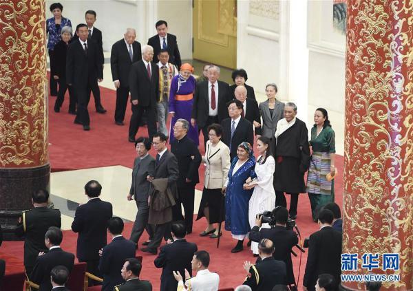 (时政)(9)国家勋章和国家荣誉称号颁授仪式在京举行