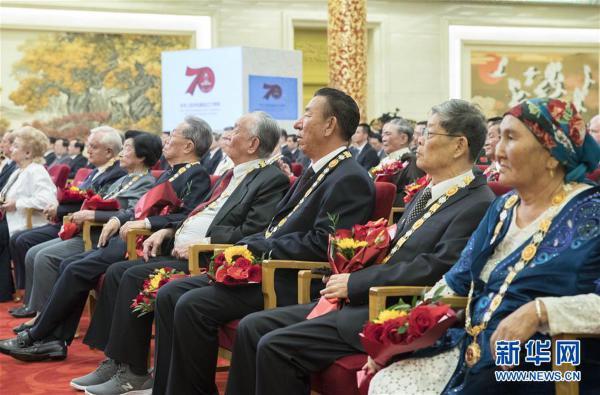 (时政)(13)国家勋章和国家荣誉称号颁授仪式在京举行